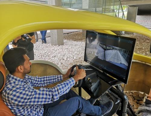 Orange y la UPV muestran aplicaciones de la tecnología 5G en robótica y coches conectados