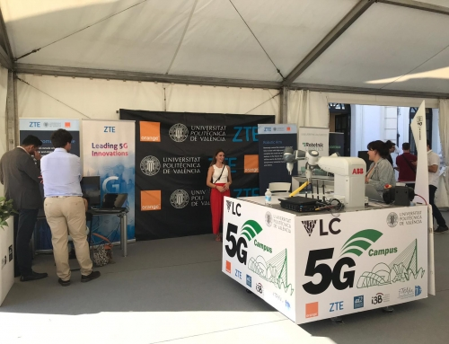 Demos Robótica 5G en Forum VLC TECH
